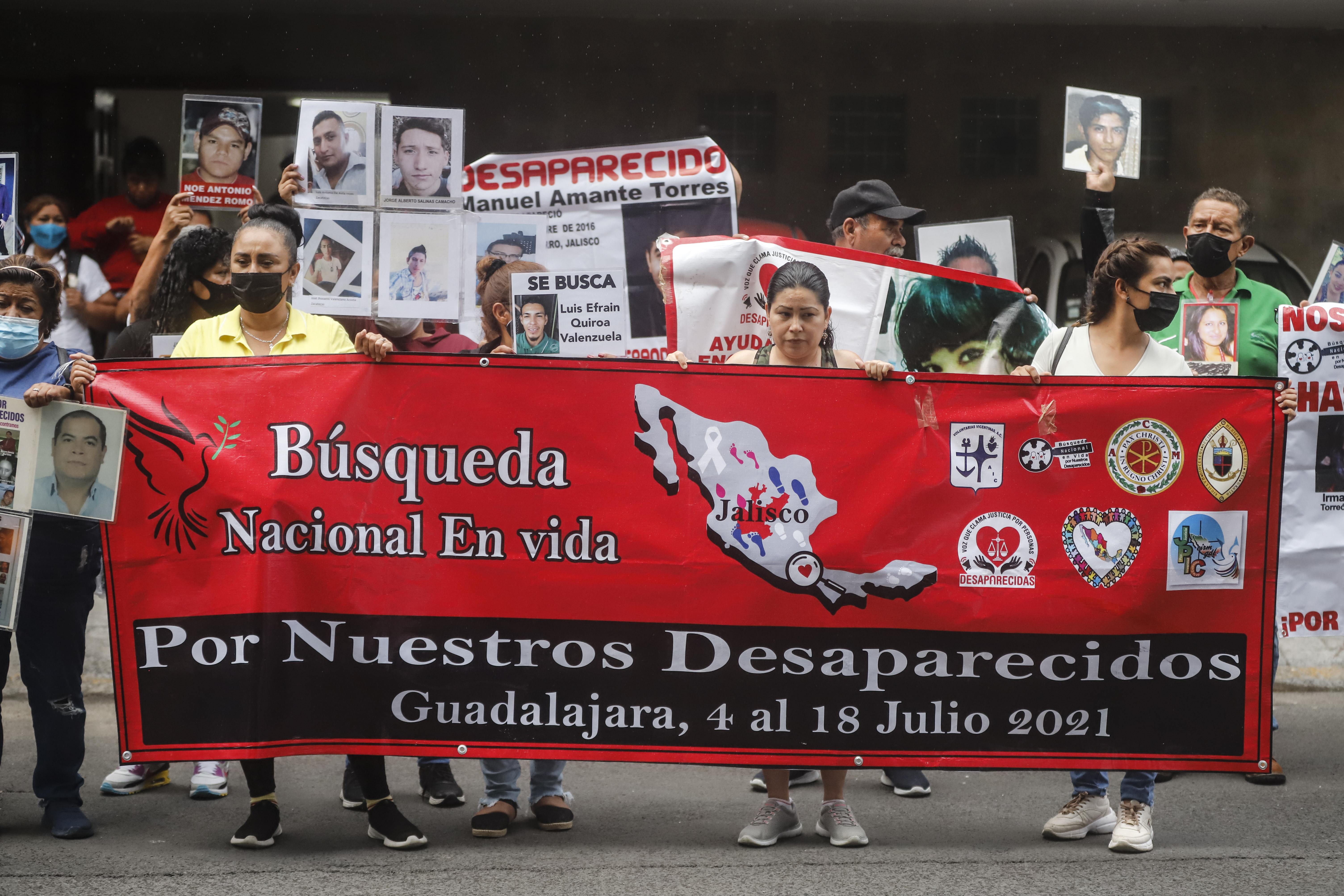 Personas de más de 20 estados de la República Mexicana participaron en la Segunda Búsqueda Nacional en Vida que se realizó en Jalisco.